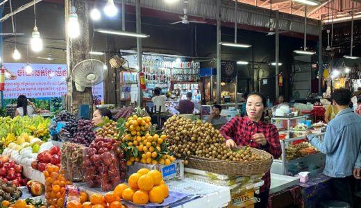 【カンボジア】オールドマーケットでショッピング!